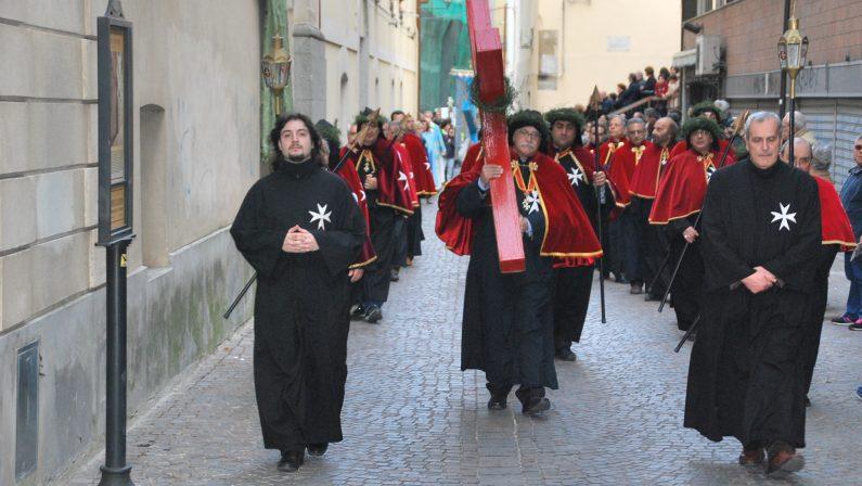 FOTO - 'A Naca sfila per le vie di Catanzaro