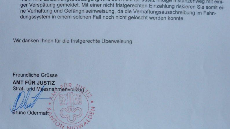 Supera di 20 km/h il limite di velocità Ora rischia di finire in carcere in Svizzera