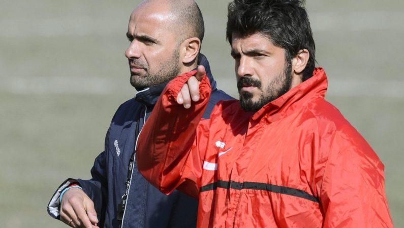 Gattuso in trattativa con il Palermo Spiragli per la panchina in serie B