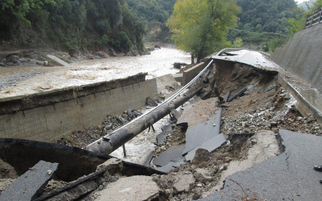 Allagamenti e frane: le foto dei danni per il maltempo