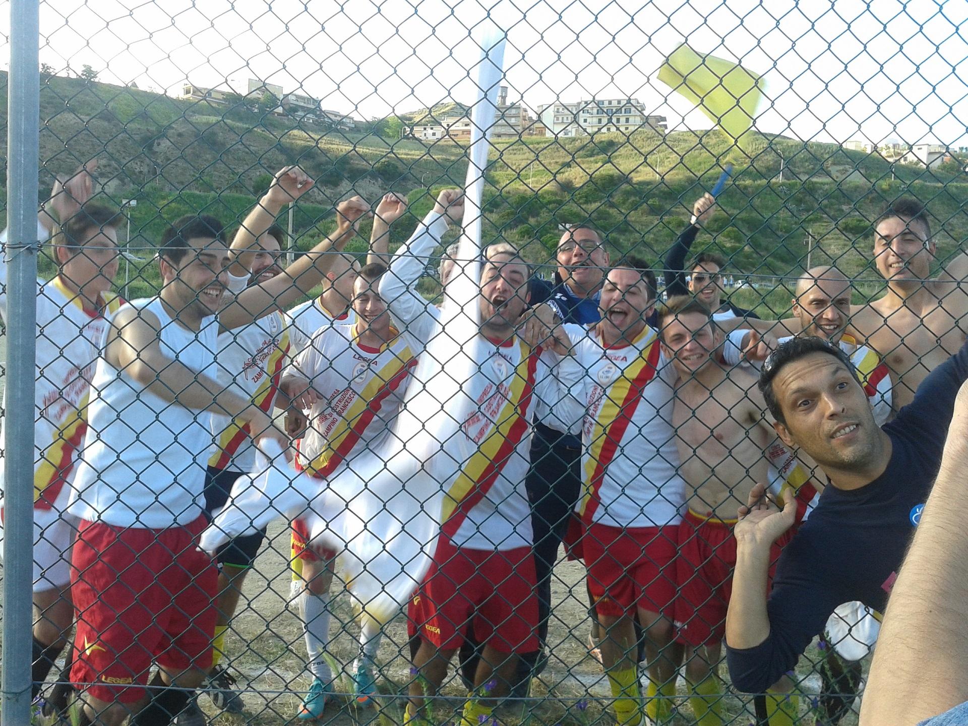 Le foto della festa sui campi di calcio di Seconda e Terza categoria calabrese