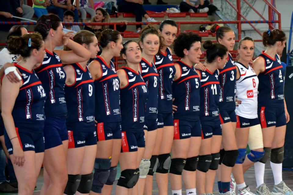 Volley, il trionfo della DeSetaCasa Cosenza