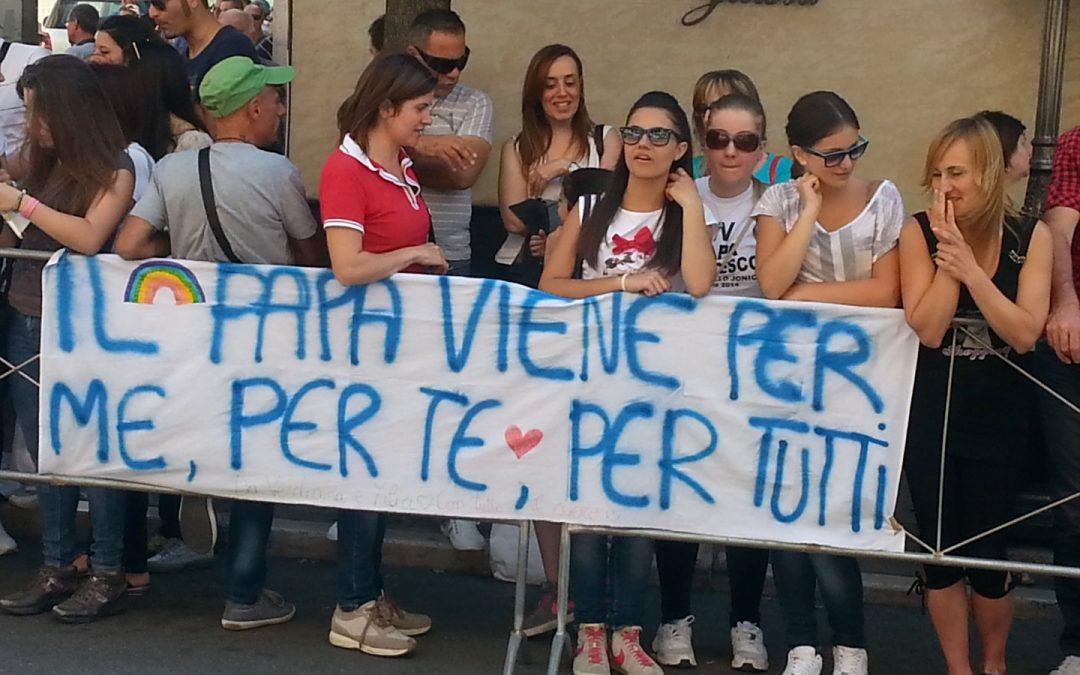 La visita di Papa Francesco a Cassano Le immagini di una giornata storica