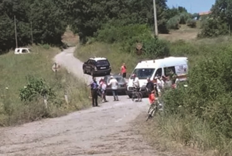 Incidente a Ruvo del Monte Investito ciclista, è grave