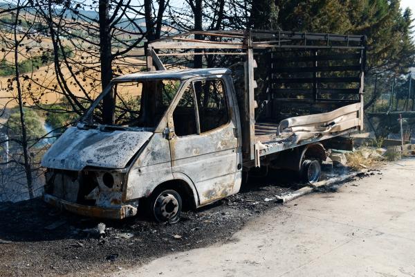 Incendio a San Luca Branca In fumo 50 ettari di terreno