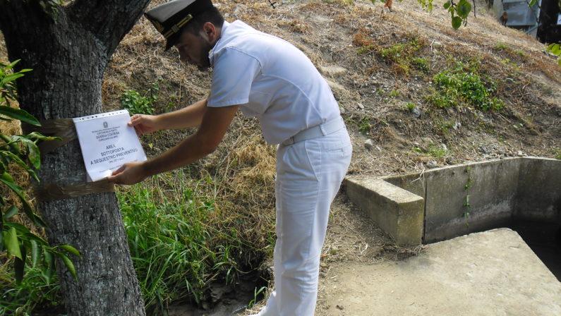 Depuratore colmo di fanghi nel Reggino Sequestrati i letti di essiccazione