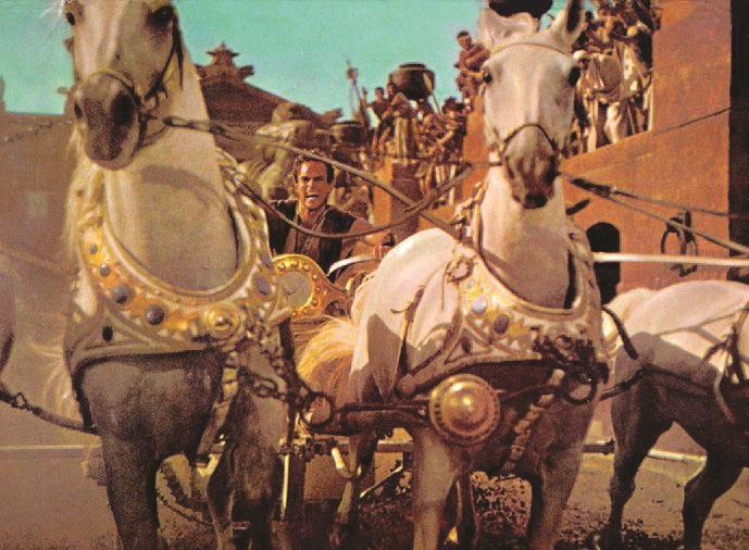 Primo ciak di Ben Hur Domani al via le riprese