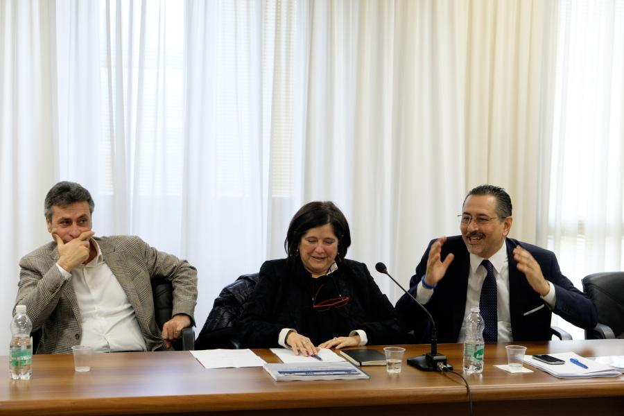 La giornata di Marcello Pittella in Unibas Confronto su petrolio e futuro dell'ateneo
