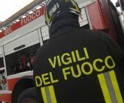 Incendio distrugge due abitazioniSgomberate due famiglie a Fabrizia