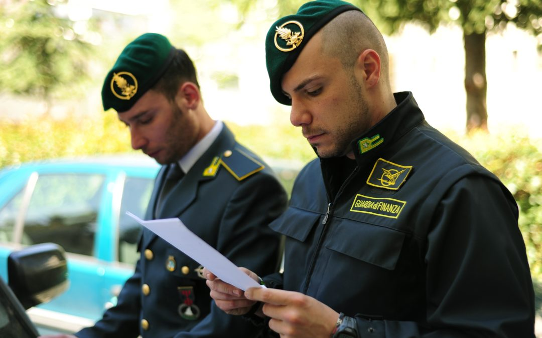 Militari della guardia di finanza