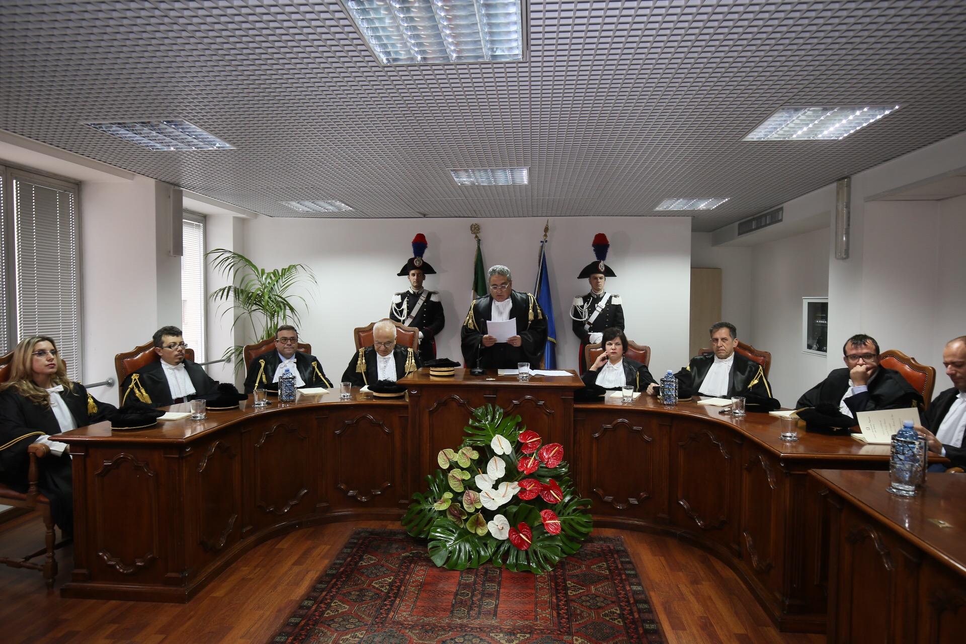 A Catanzaro inaugurato l'anno giudiziario del tribunale