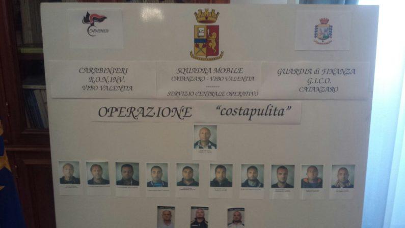 Operazione Costa Pulita: scaduto il termine per depositare le motivazioni, sei condannati tornano in libertà