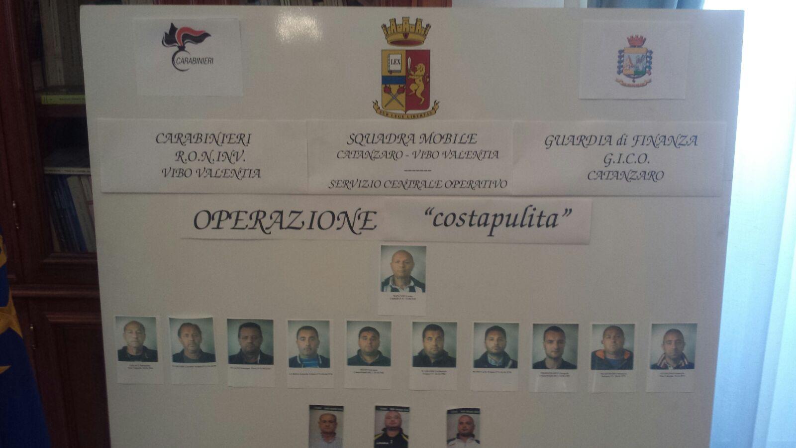"""""""Costa Pulita"""", chiesto il giudizio per 82 persone  C'è anche il presidente della Provincia Niglia"""