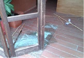 Gravi danni ad un hotel di Vibo, responsabili un gruppo di extracomunitari