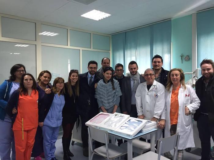 Mancano coperte in NeonatologiaDonazione del Rotaract a Crotone