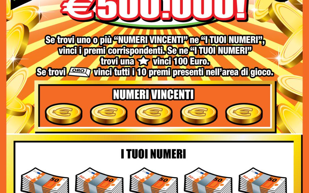 Vinti 500mila euro a Paola