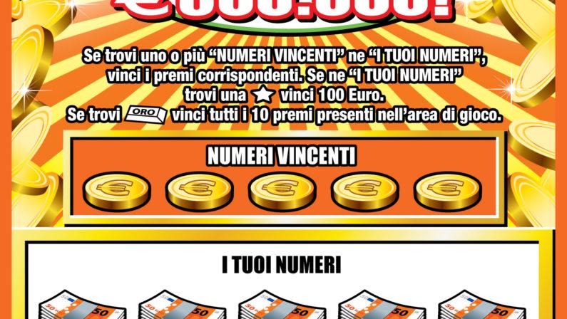 Gratta e vince 500mila euro: a Paolamaxi vincita per un operaio cinquantenne