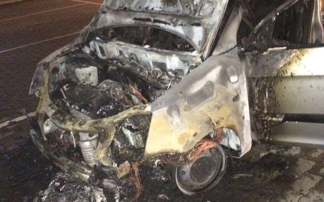 Intimidazione a concessionaria, incendiata un auto