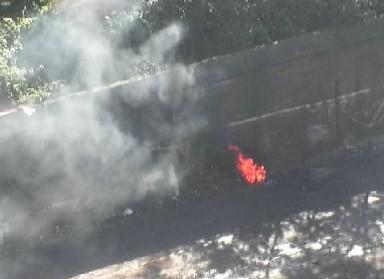 Incendia un cumulo di rifiuti in un'area demanialeCarabinieri arrestano un uomo nel Vibonese