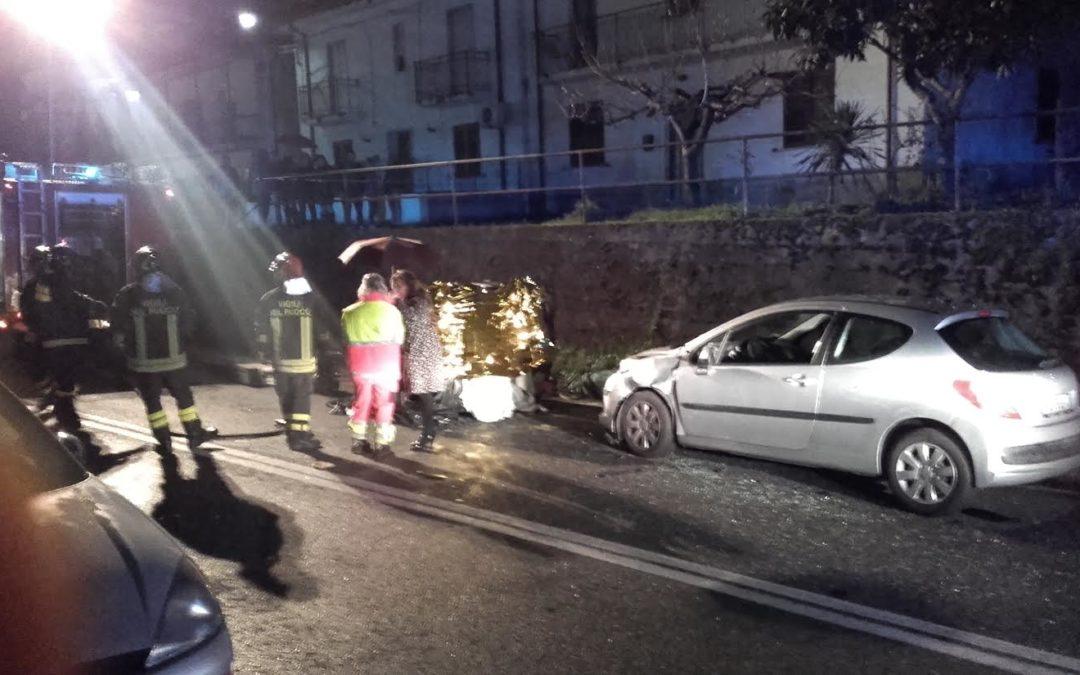 Incidente stradale a Rende, muore un uomo