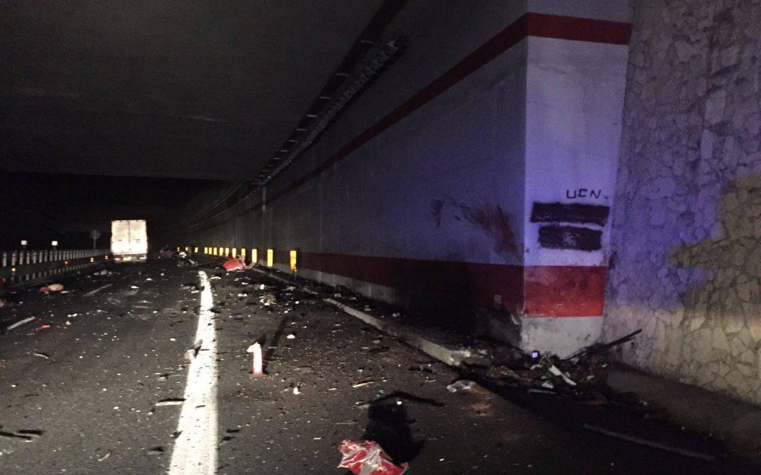 Foto dell'incidente mortale nel Vibonese