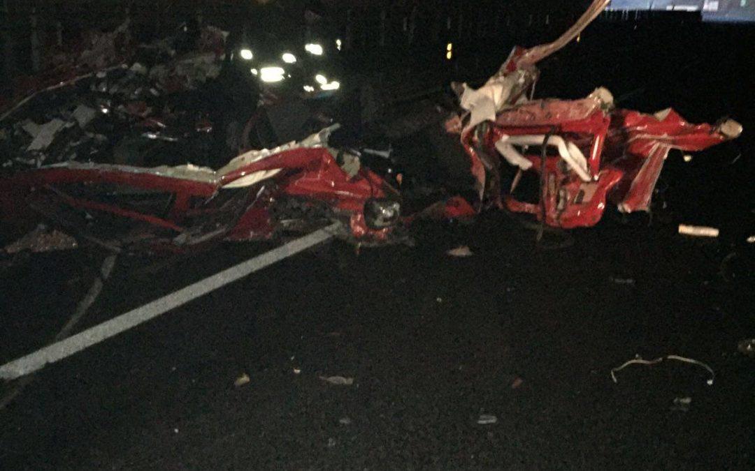 Quattro giovani perdono la vita in un incidente nel Vibonese