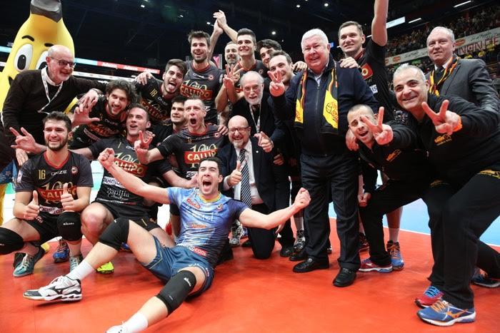 Volley: Tonno Callipo nella storiaVince la sua terza Coppa Italia