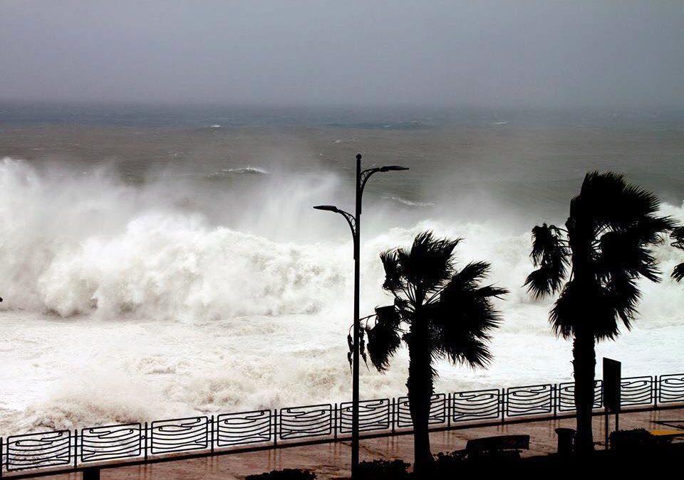 In arrivo burrasca e mareggiate in Basilicata: allerta meteo della Protezione civile