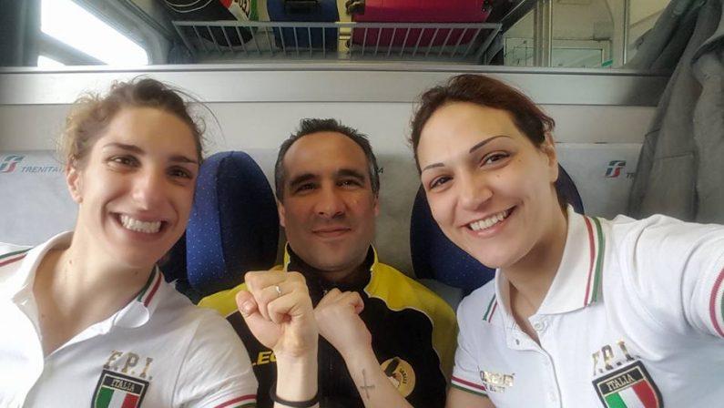 Boxe, due medaglie d'oroper le ragazze di Catanzaro