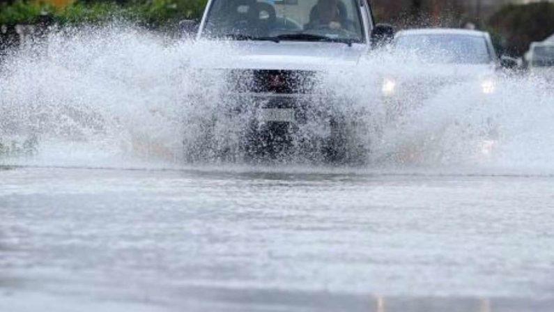 Pioggia, vento e neve: la Calabria fa i conticon una settimana all'insegna del maltempo