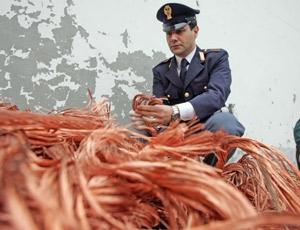 Rubavano cavi in rame TelecomArrestate sei persone nel Cosentino