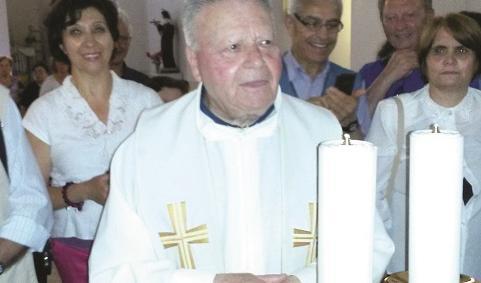 Melfi, sessanta anni di sacerdozio  per don Michele Amendola