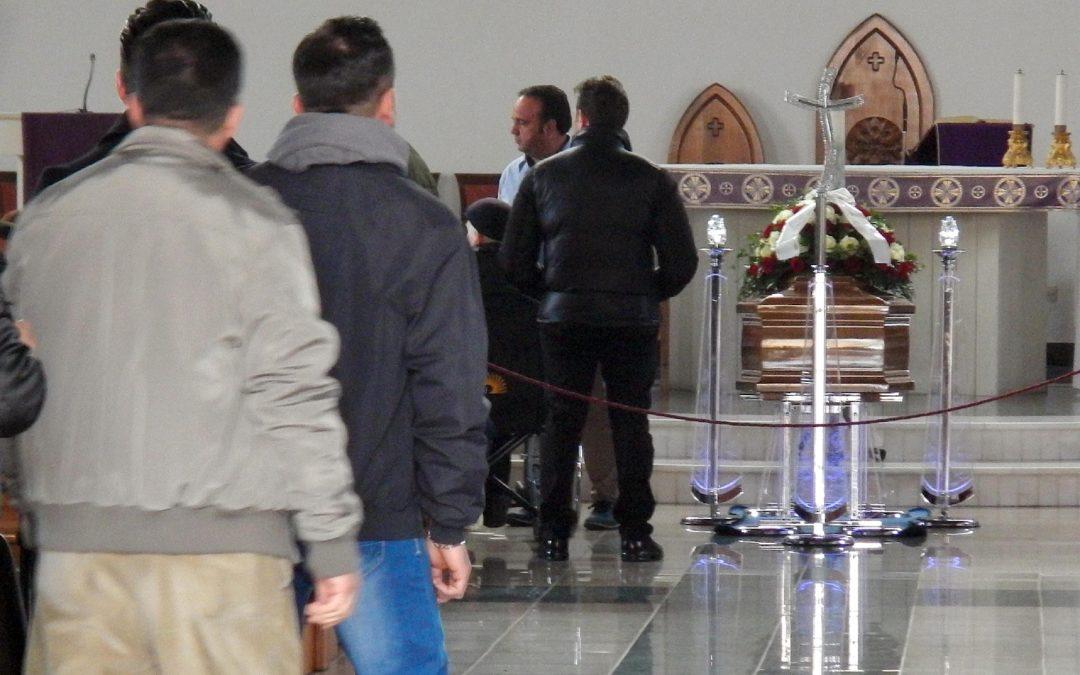 Il sindaco di Limbadi ai funerali di Failla