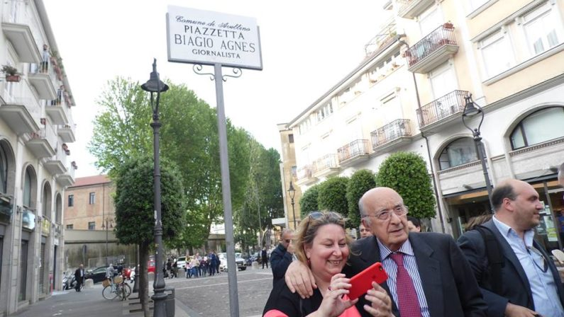 L'omaggio a Biagio Agnes e il ricordo del Presidente De Mita: un grande esempio civile e culturale