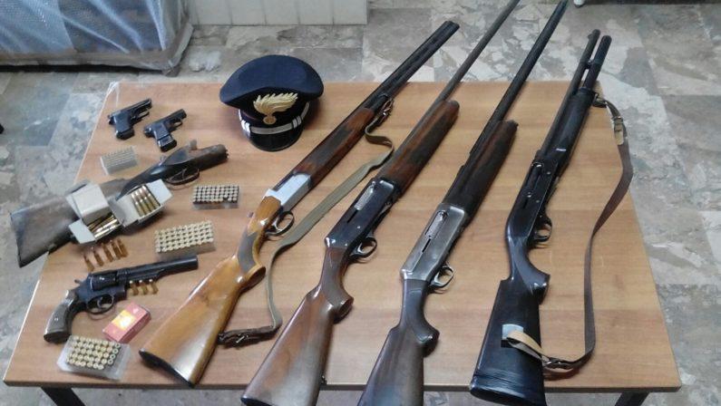 Armi e munizioni, controlli nel ViboneseUn uomo arrestato e vari sequestri