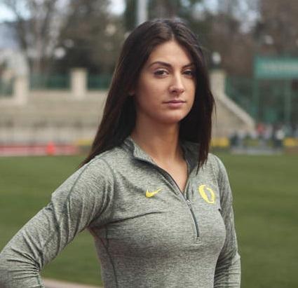Bella, giovane e con origini calabresi: Hannahl'atleta americana che vuole la maglia azzurra