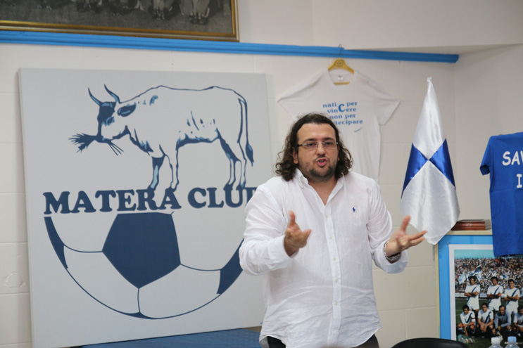 Saverio Columella, ex patron del Matera Calcio