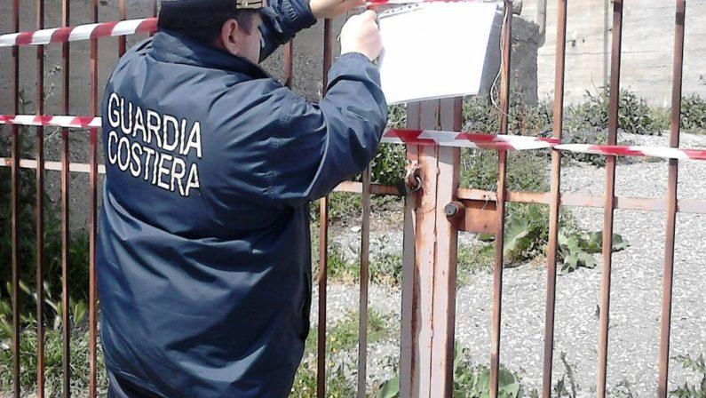 Irregolarità per un depuratore del CatanzareseGuardia costiera sequestra l'impianto, una denuncia