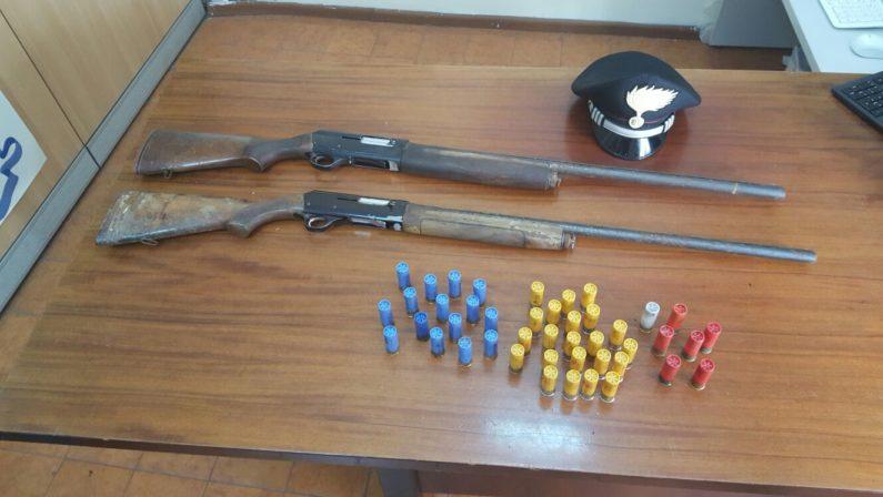 Sequestro di armi e munizioni in Alta Irpinia