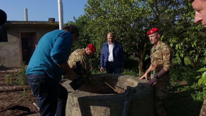 Scoperto un bunker nel sottosuolo delle campagne di Rosarno, era forse utilizzato da latitanti di 'ndrangheta