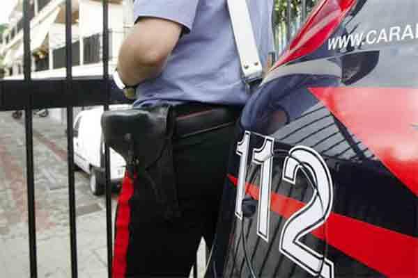 Inscena un furto per truffare l'assicurazione i Carabinieri scoprono un uomo di Monteforte Irpino