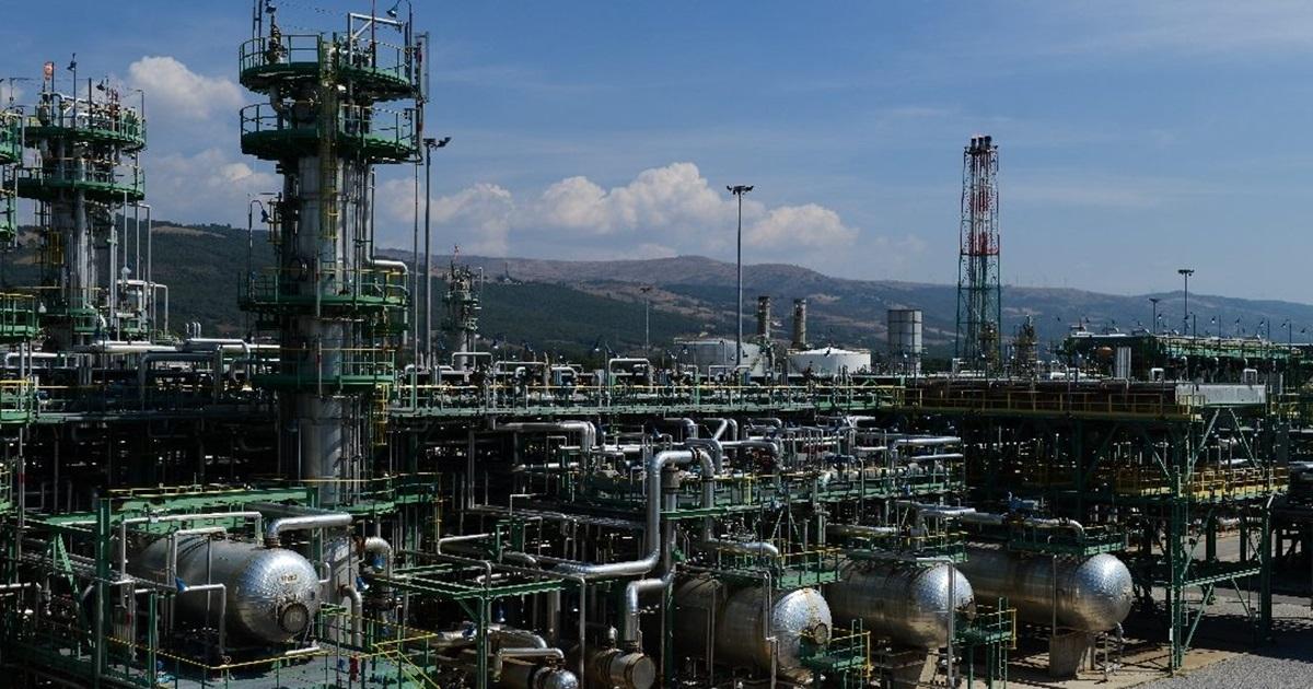 Il Centro Olio Val d'Agri a Viggiano (PZ)