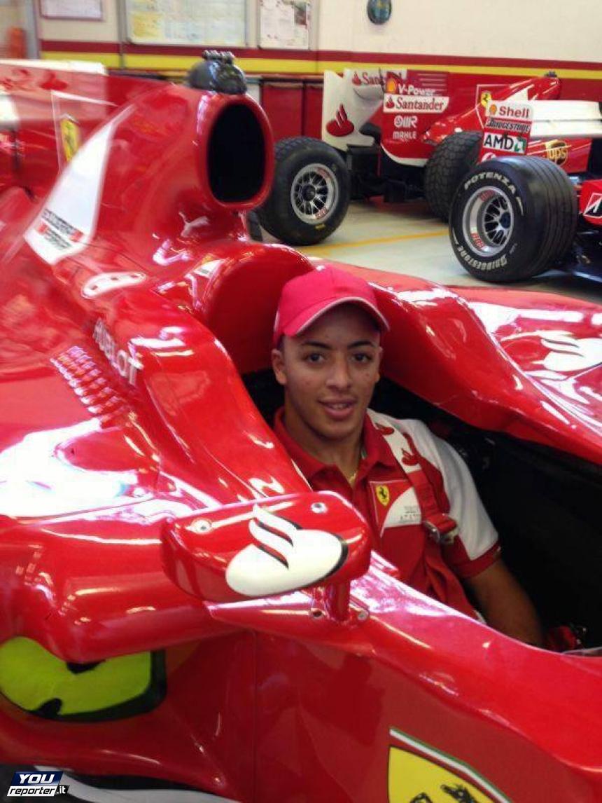 FOTO - Antonio Fuoco, il pilota calabresealla guida della Ferrari di Formula 1