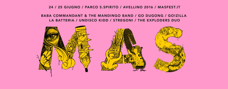 Il Mas Fest torna ad Avellino e dedica l'edizione al tema delle frontiere