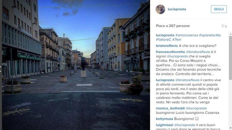 Elezioni, Briatore sostiene Presta su Instagram«A che ora si svegliano a Cosenza?». È polemica