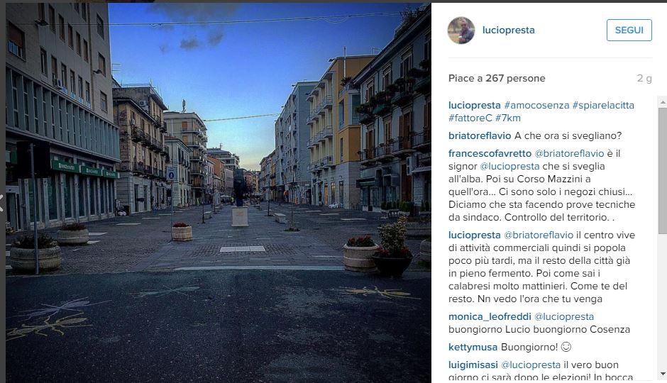 Elezioni a Cosenza: Briatore sostiene Lucio Presta