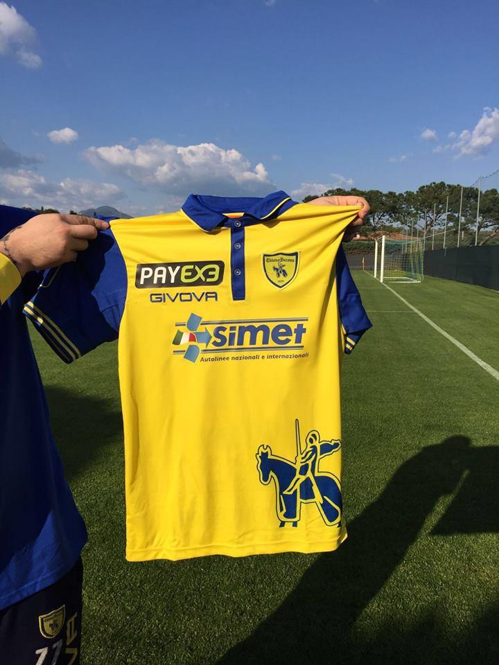 La Simet sponsorizzerà il Chievo nella partita contro la Roma