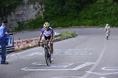 Sport, emozioni e ricordo nellasettima cronoscalata al Santuario di Montevergine