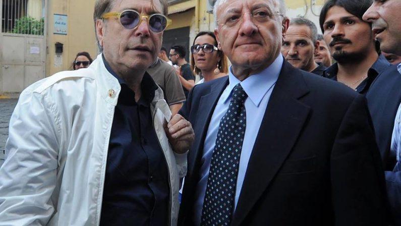 Teatro Trianon, il Presidente De Luca incontra Nino D'Angelo per il rilancio della storica struttura