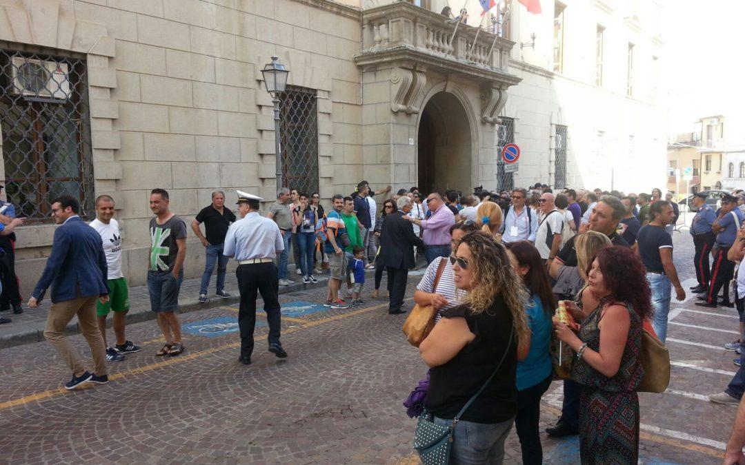 FOTO – A Catanzaro è il giorno di Claudio Ranieri  Il racconto per immagini dell'evento